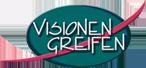 Logo:  Visionen Greifenschwarz-weiß